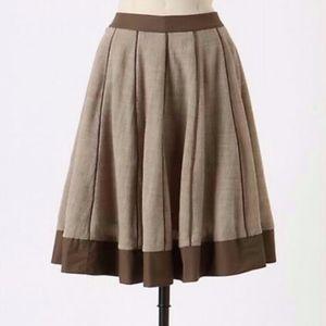 Anthropologie Edme & Esyllte Melded Gauze Skirt